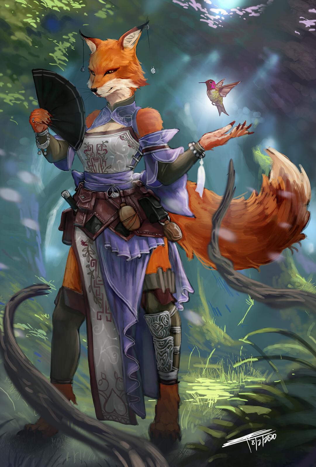 Kitsune Druid