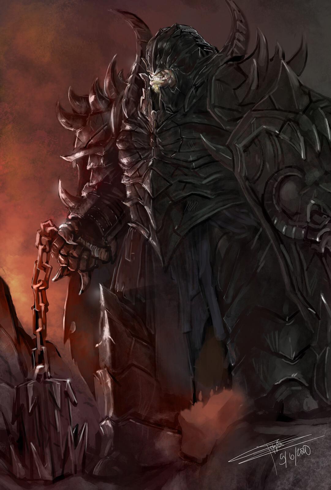 Half Orc Hellknight