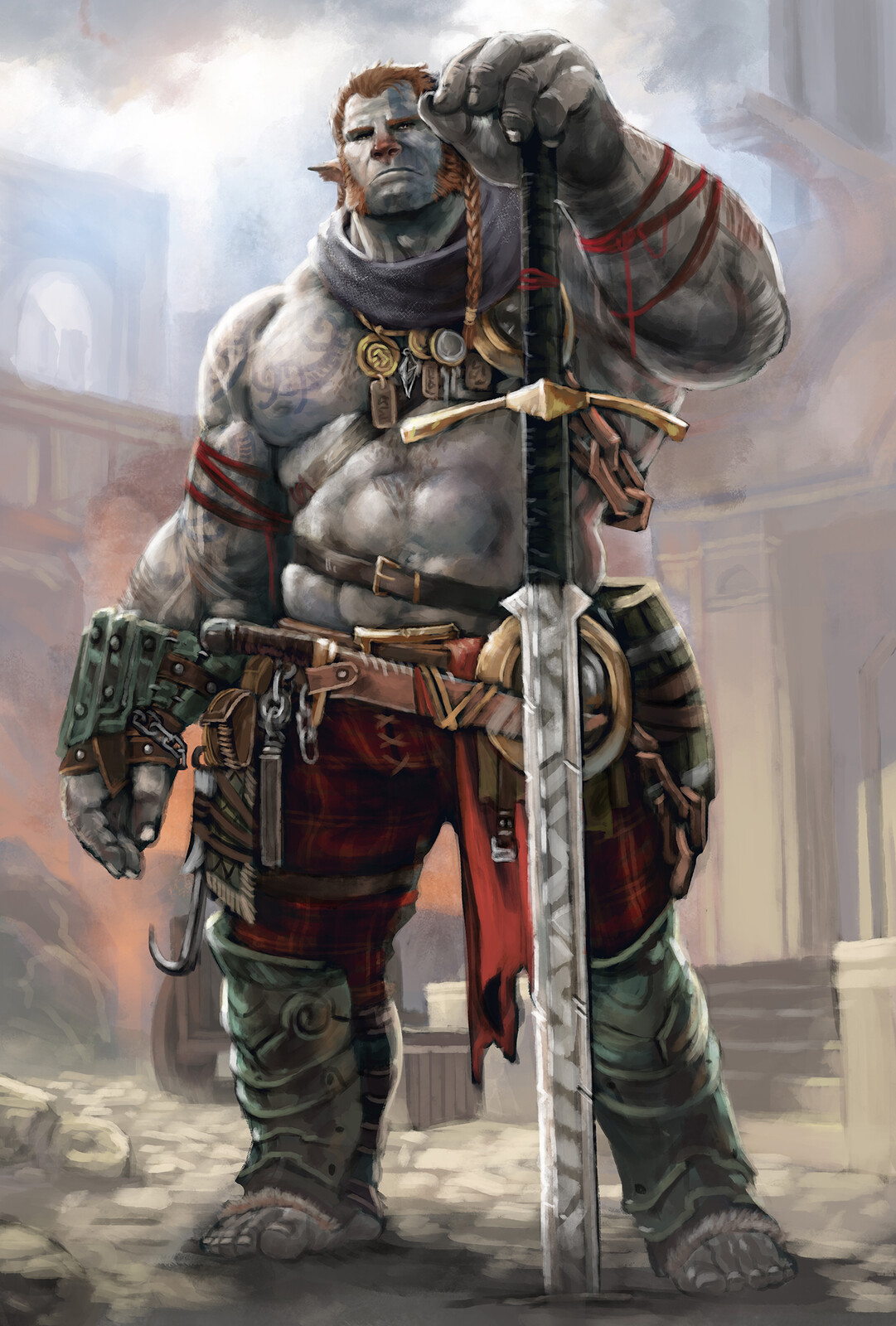 Firbolg Barbarian