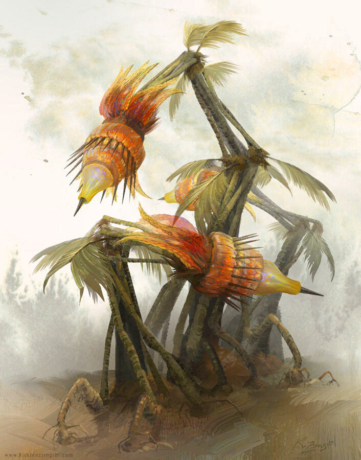 """Spitting Plant"""