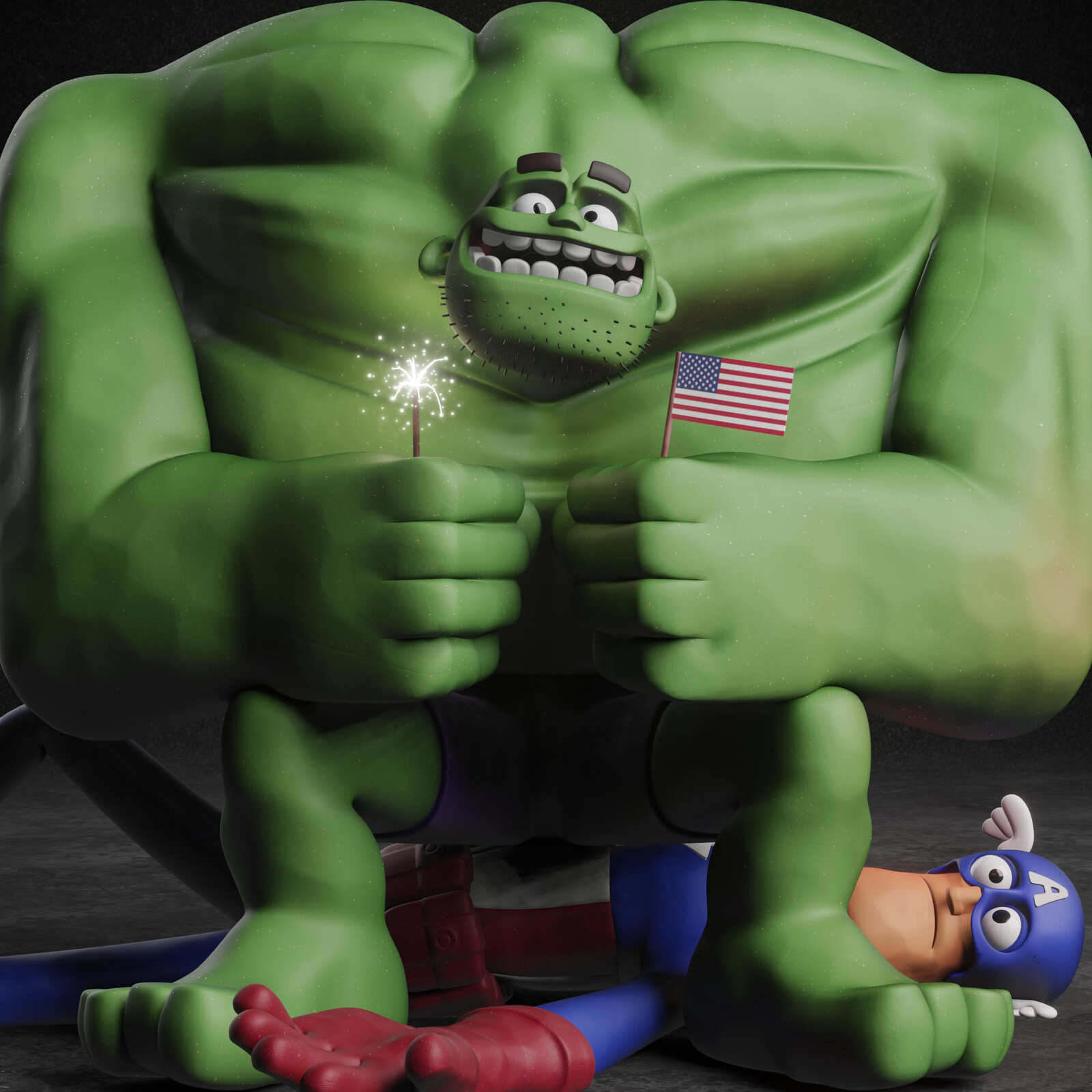 The Hulk (4th of July)
