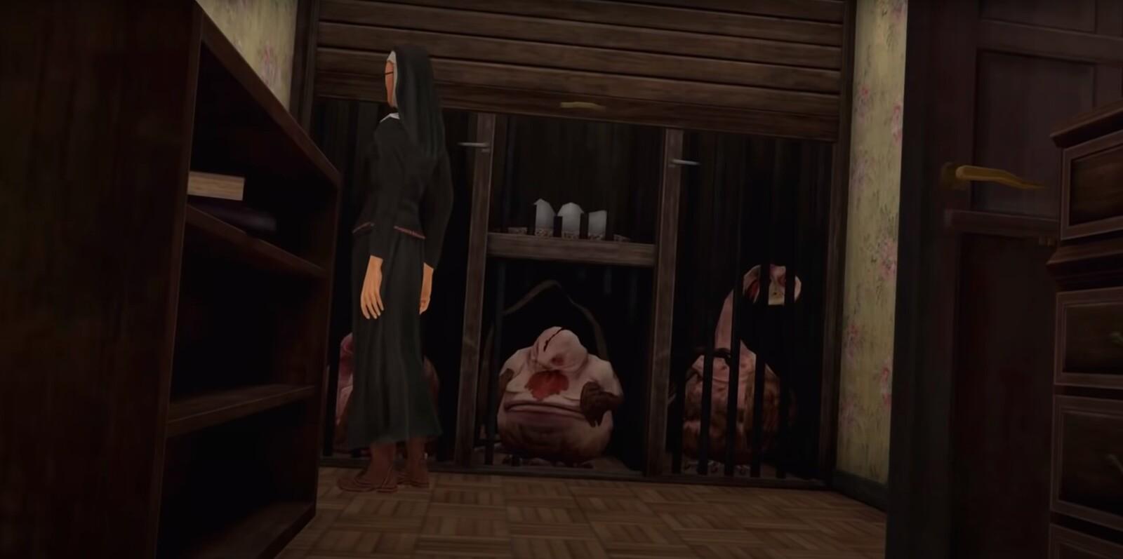 """Screenshot from """"Evil Nun 2"""""""