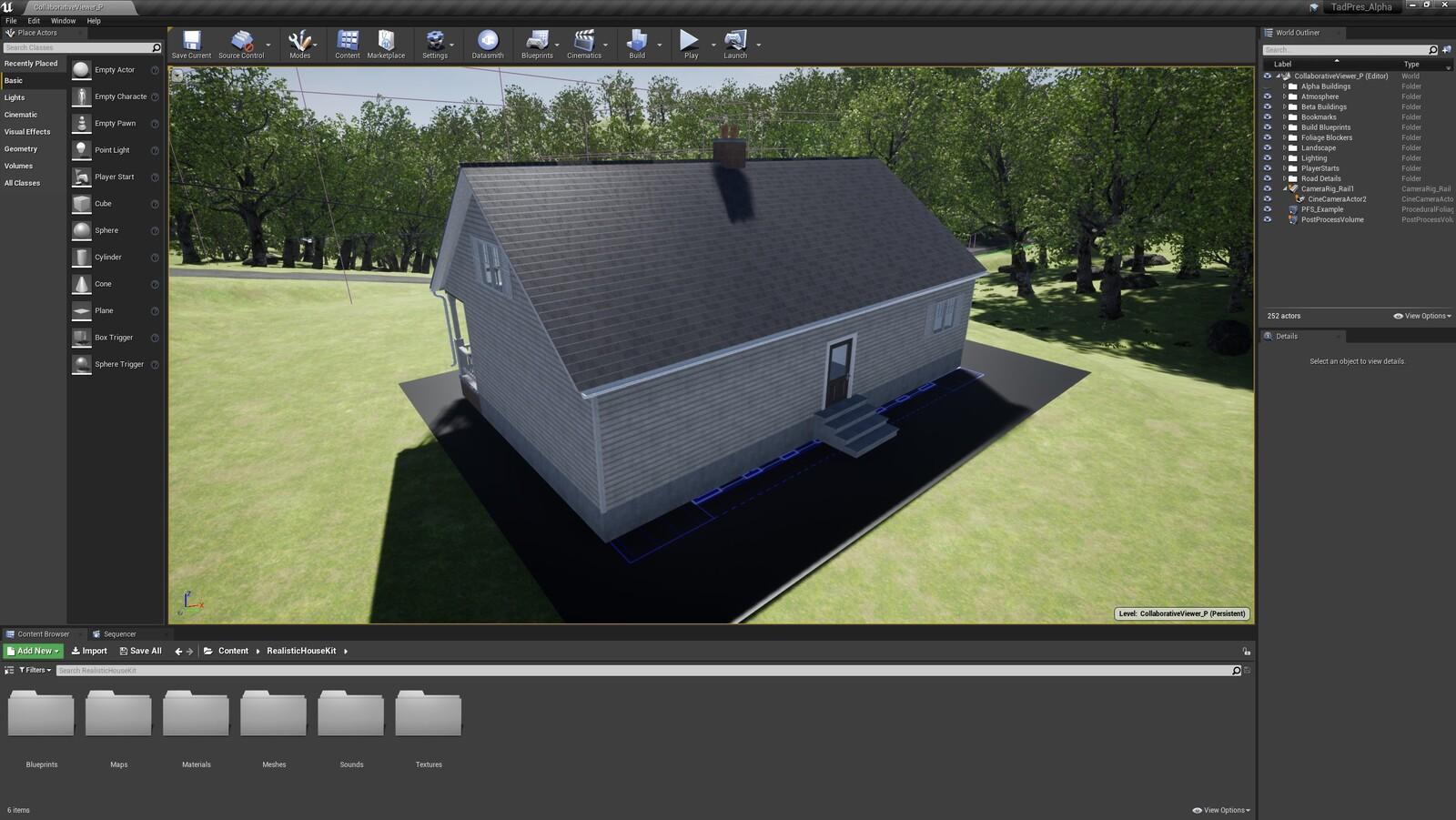 The second angle for the TAD Presentation Farmhouse (Modular Version)