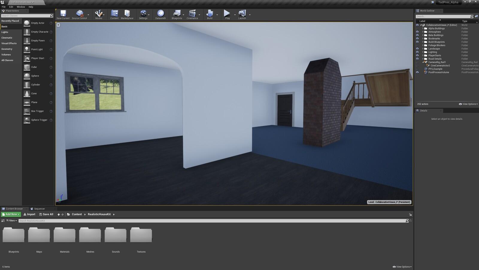 The fourth angle for the TAD Presentation Farmhouse (Modular Version)