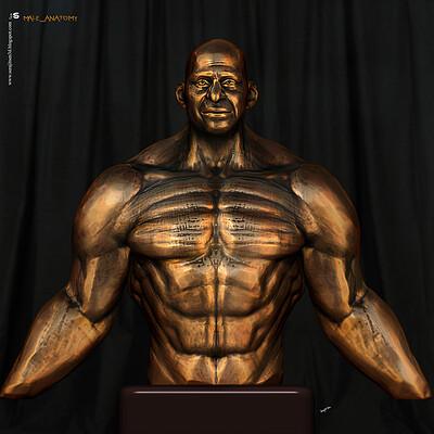Surajit sen male anatomy sculpture by surajitsen dec2020a l
