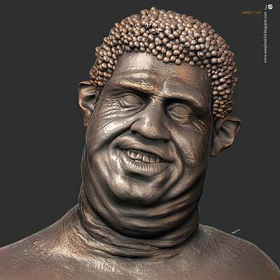 Surajit sen bobo digital sculpture surajitsen nov2020 l
