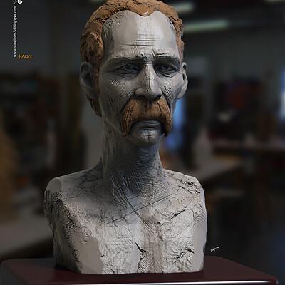 Surajit sen harry digital sculpture surajitsen dec2020a l