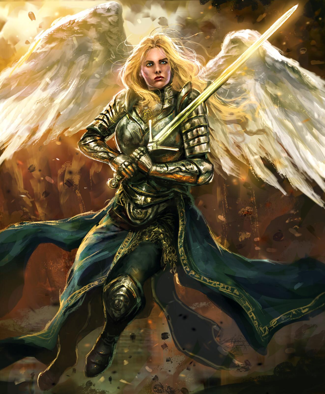 Warrior Angel-Arcane Gladiator TCG