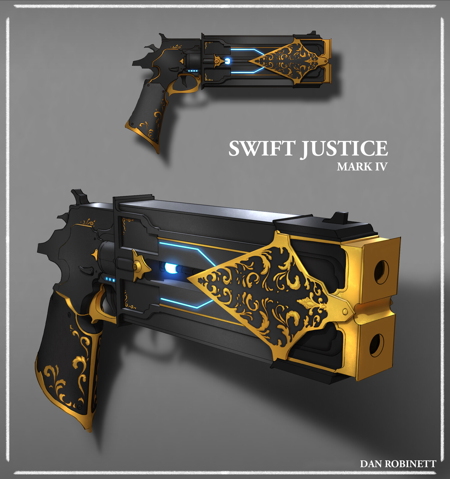 Scifi Gun Designs