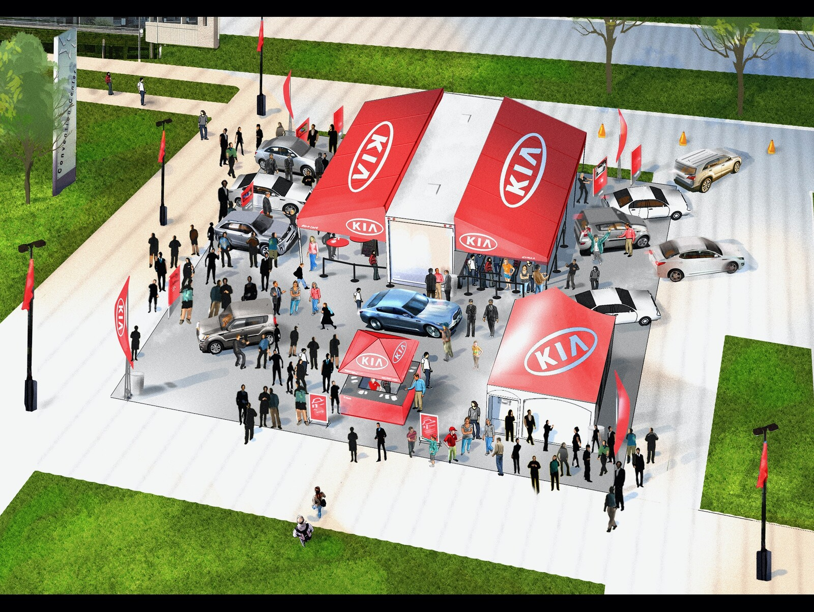 KIA Event meeting sketch