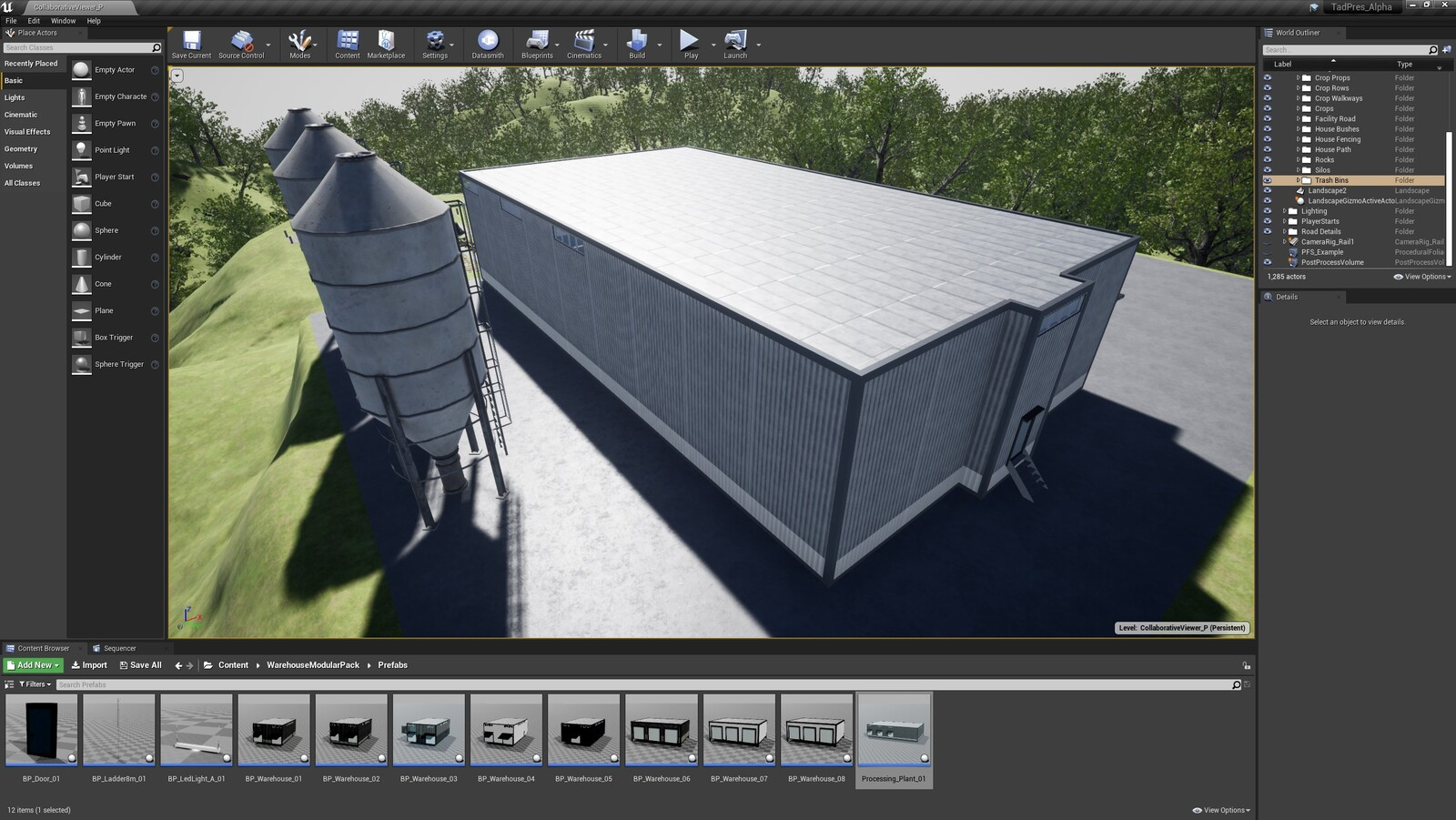 The second angle for the TAD Presentation Facility (Modular Version)
