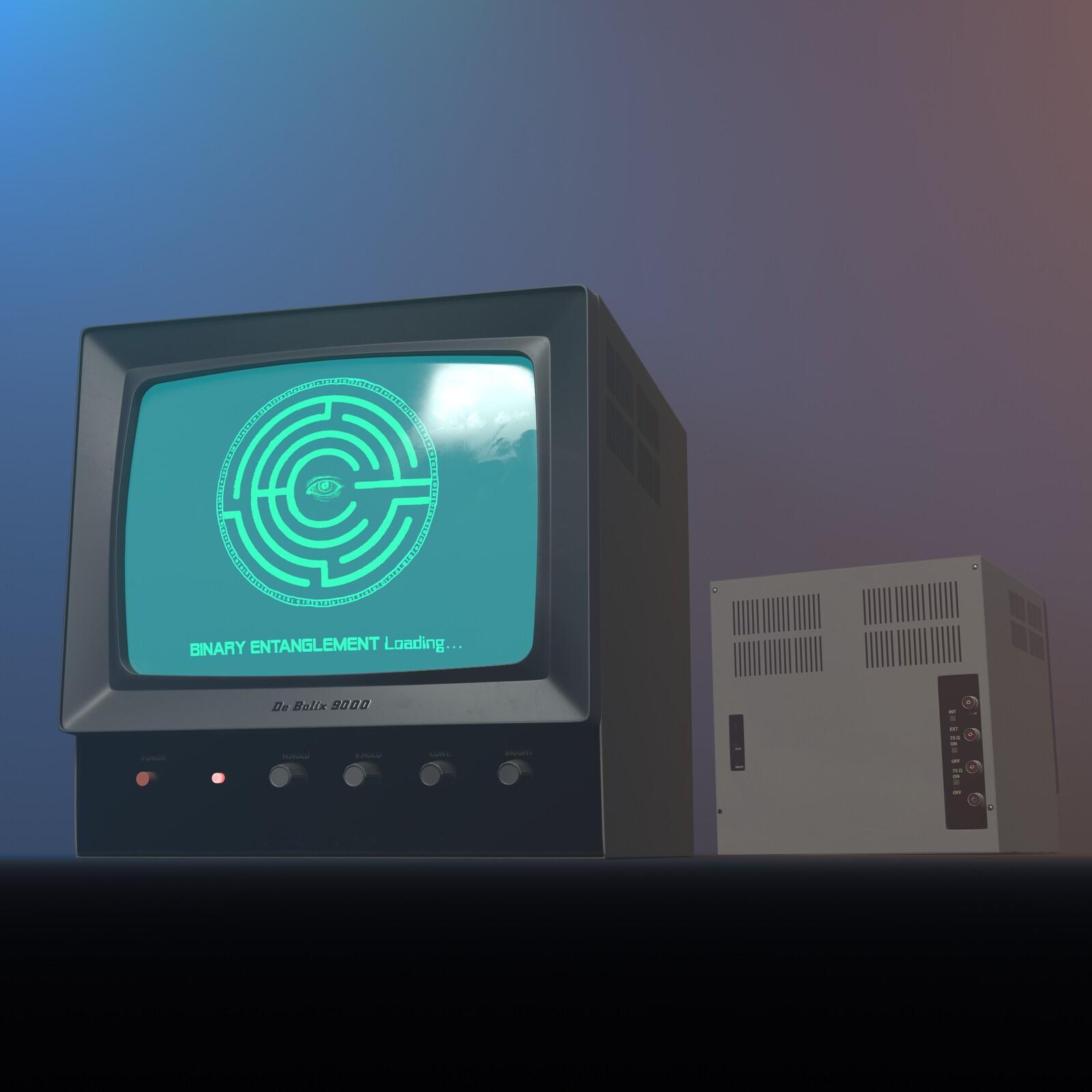 CRT Monitor Prop