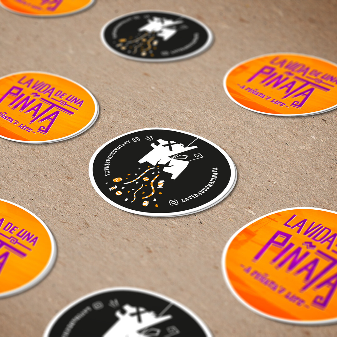Stickers for the movie