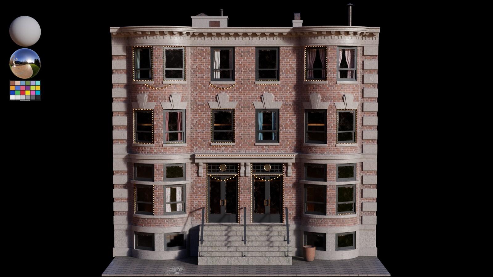 Lookdev - Houses B