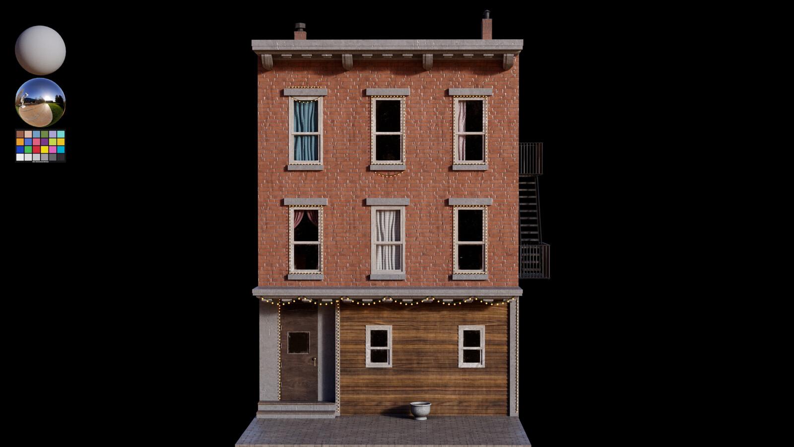 Lookdev - Houses C