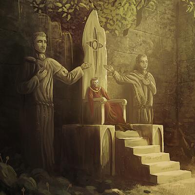 Jonathan gebel the forgotten king still shines in eternal light