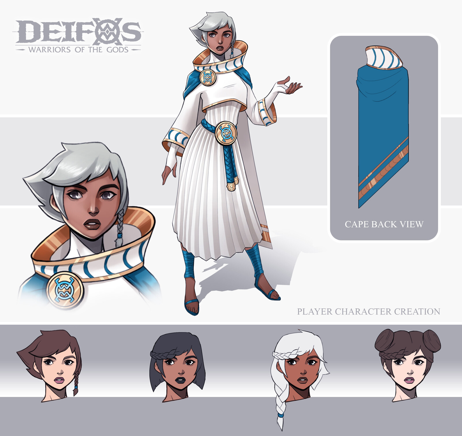 Deifos Player Character - Female