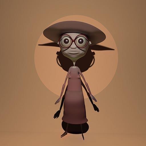 Martha, 3D character