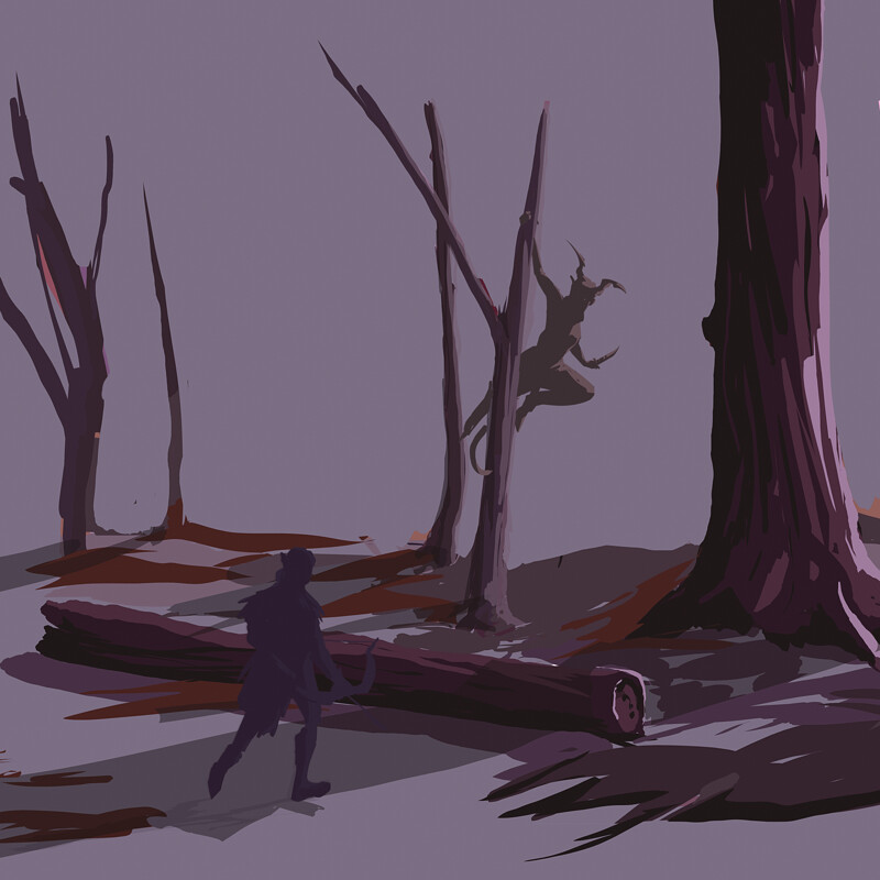 The Hunt (Environment Study)