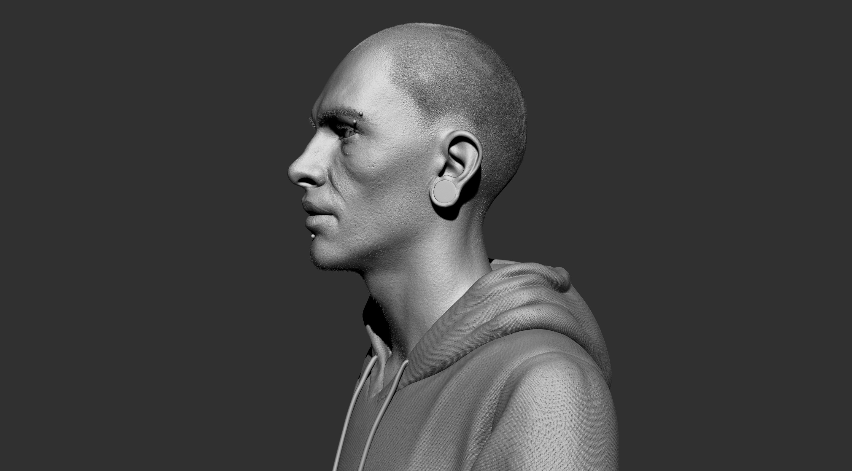 ZBrush high res mesh