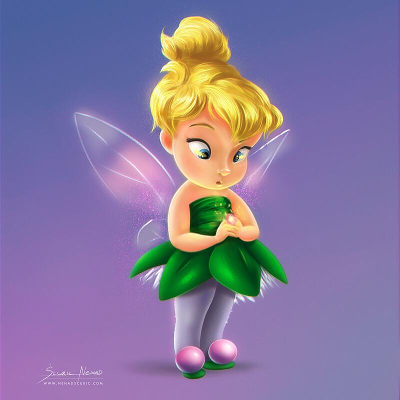 Tinker Bell Illustration