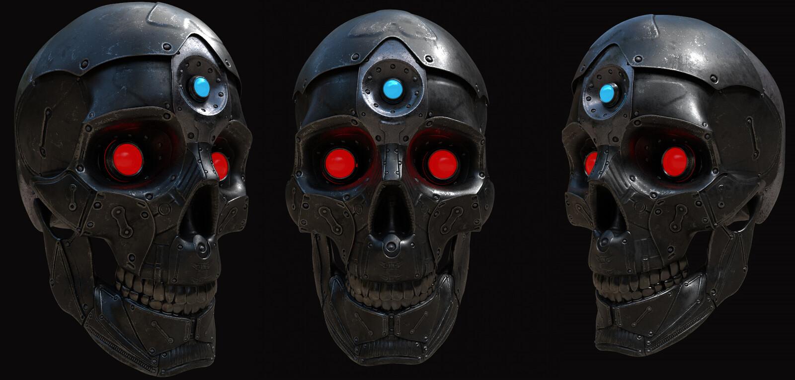 Mecha Skull