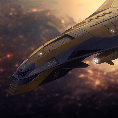 Encho enchev strategic bomber concept 1