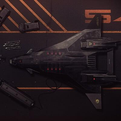 Encho enchev strategic bomber concept 4c