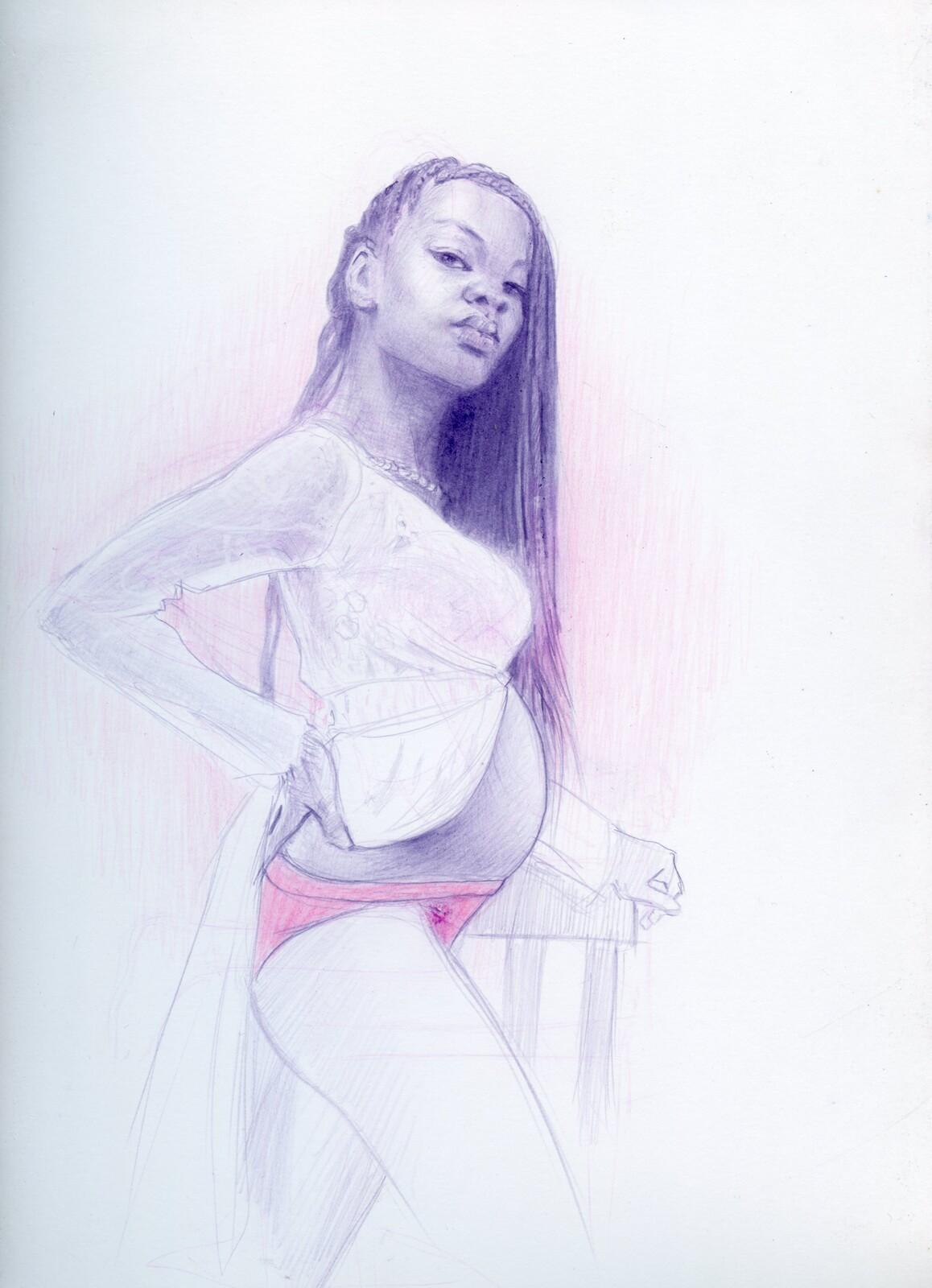 Sketchbook Batch 4 : Jade Figure Drawings/ Sketches