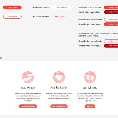 UI/UX - Client project 1 - Homepage