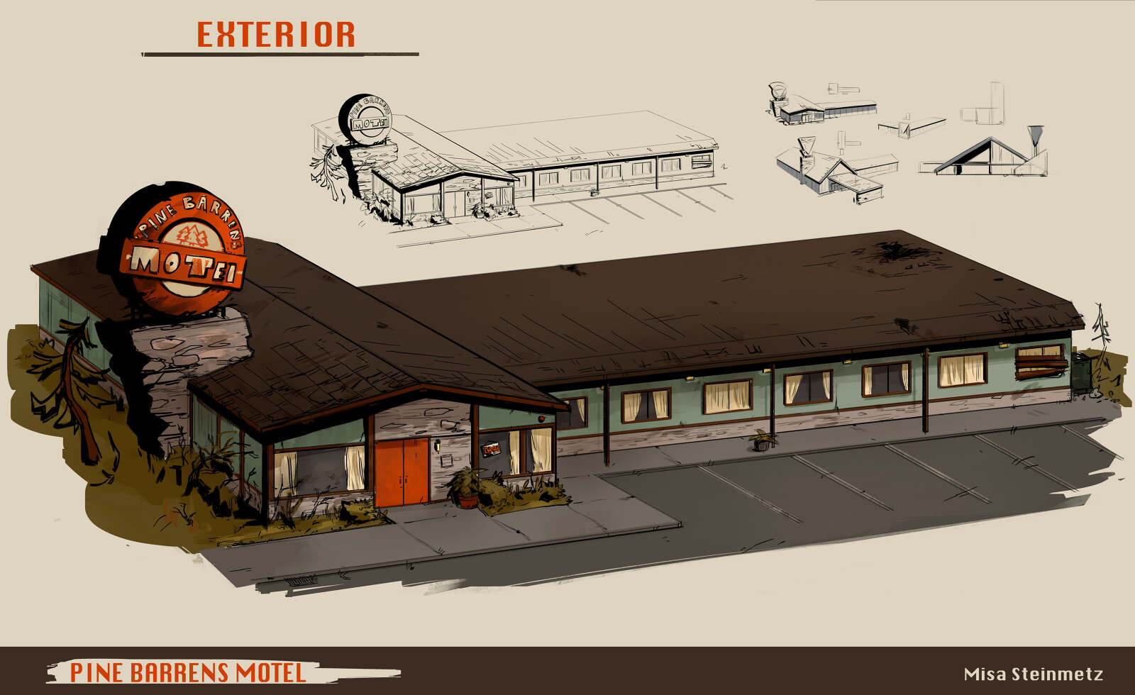 Pine Barrens Motel