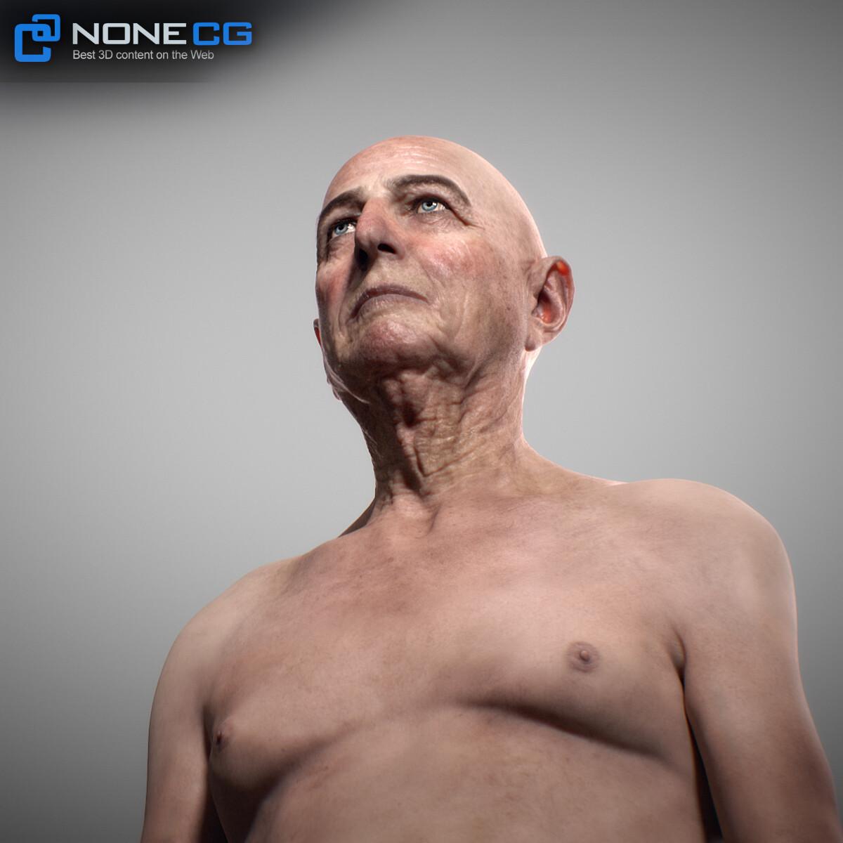 3D Aging Man