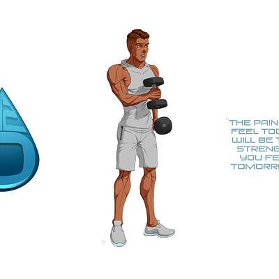 Leon active water bottles wm s6