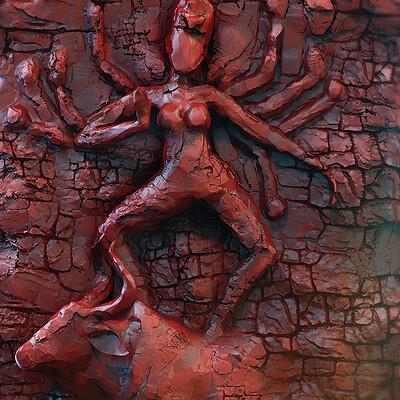 Surajit sen mrittika durga digital sculpture dec2020 surajitsen l