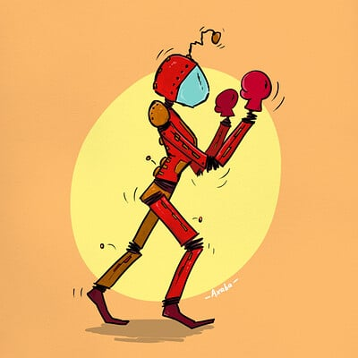 Natacha lefevre cdc robot arena deathmatch