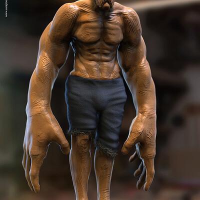 Surajit sen inhuman digital sculpture surajitsen dec2020a1 l