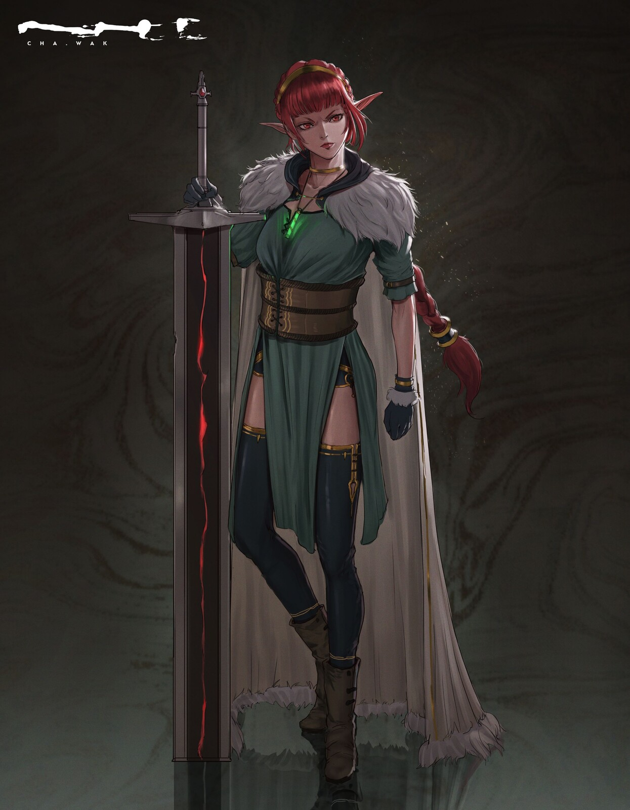 Zelia - Character Design