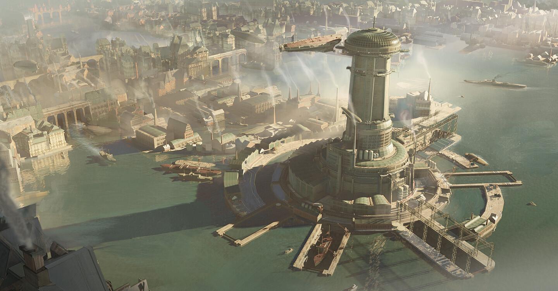 airship port