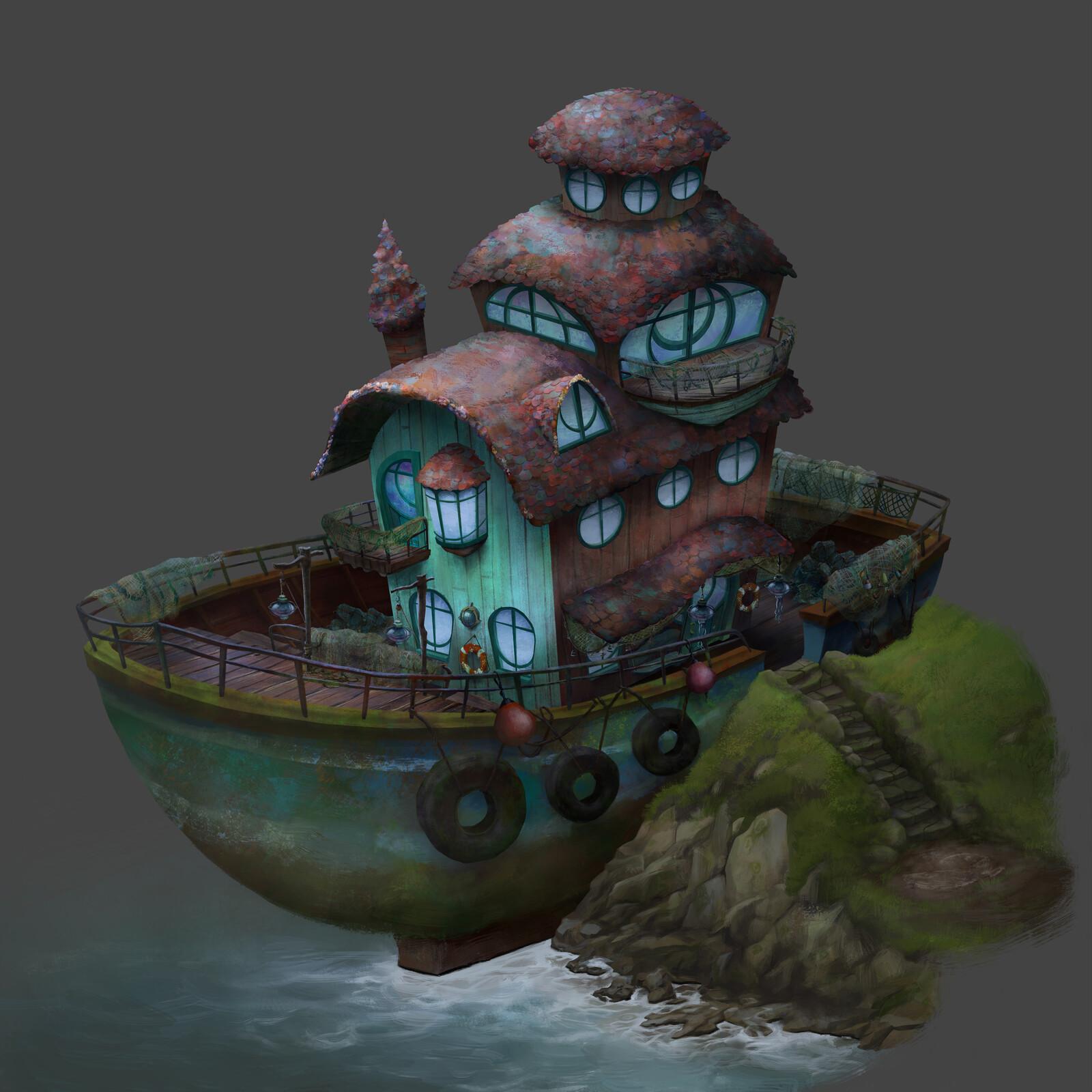 Set design: Eila's house