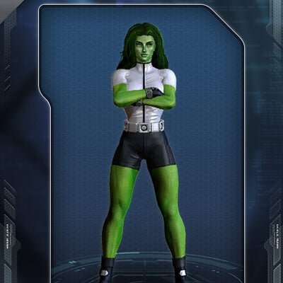 Jayna pavlin costume shehulk hfh97
