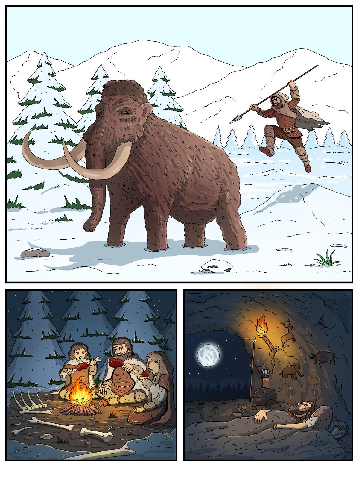illustratsioon koomiksile