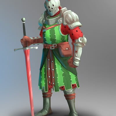 Andreas timoteo bannis watermelon knight 04
