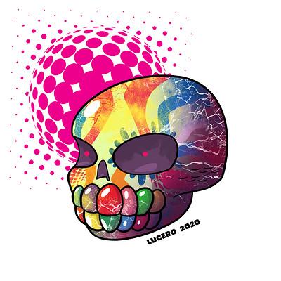 Gustavo lucero calavera azucar color para web
