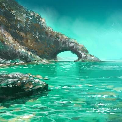 Lopez sylvain stones and sea