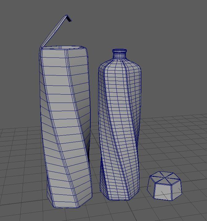 3D model creation (Maya)