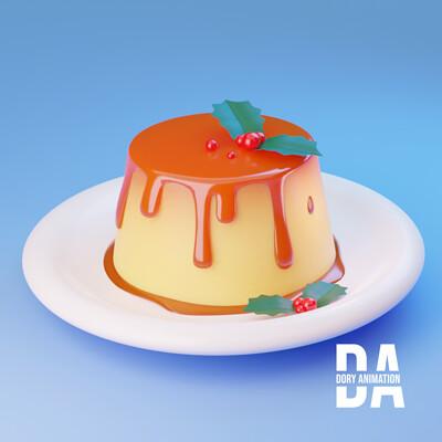 Doriana pompili pudding cor logo