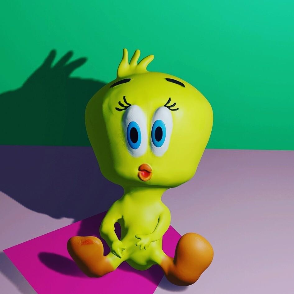 Baby Looney Tunes #sculpting