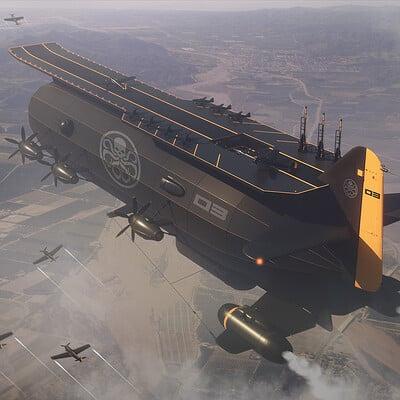 Encho enchev zeppelin concept 1