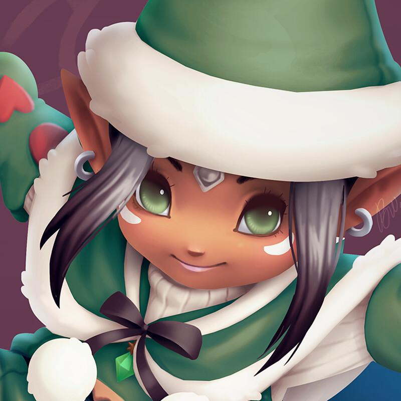Merry Christmas! ~ Nibu FFXIV