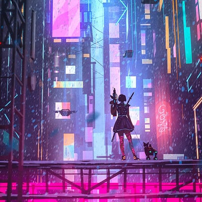 Daily Sketches- Cyberpunk2077